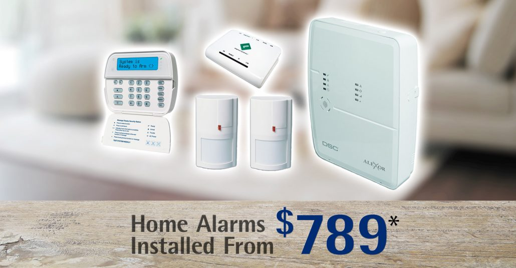 Home alarm packages Wollongong