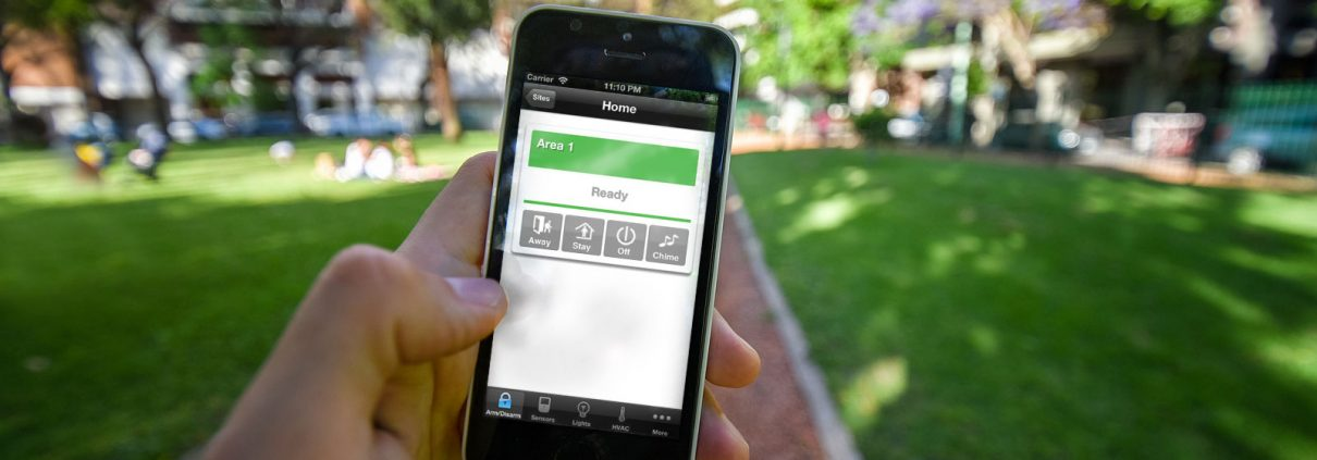 Smartphone Home Security System in Albion Park