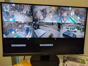 IP CCTV camera images monitor live view Rotoplas Unanderra Illawarra